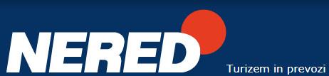 S klikom na logo se prikaže spletna stran Nered